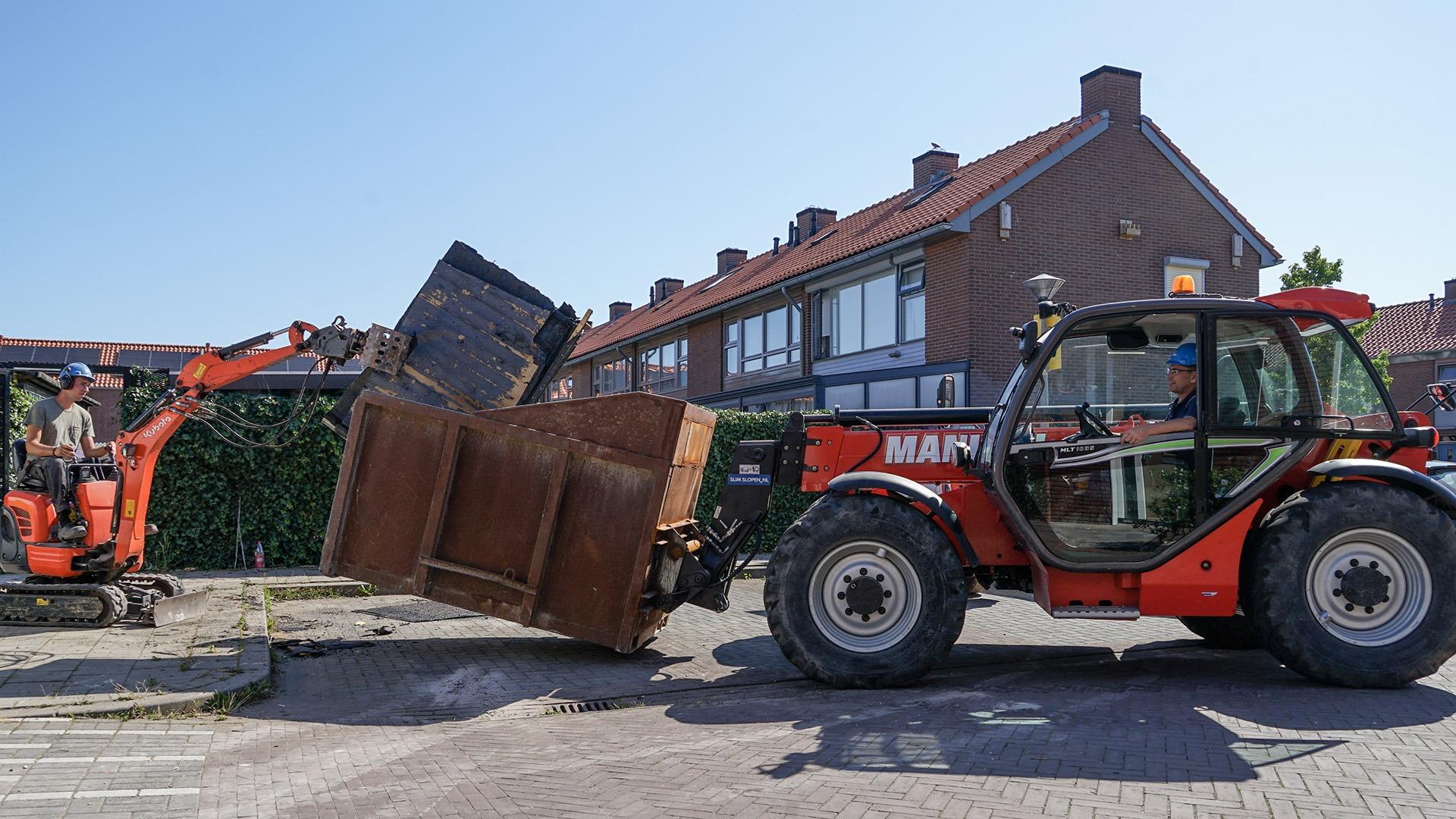 SlimSlopen Renovatiesloop Bergingen VHV Arnhem